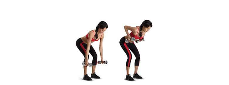 Standing Bent Over Row