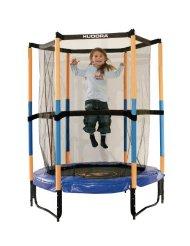Hudora Tappetino elastico per bambini con reti di sicurezza