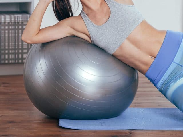 Palla Svizzera Fitball per Fitness Pilates e Ginnastica
