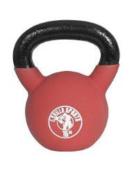 Gorilla Sports Palla Kettlebell in gomma 16 kg