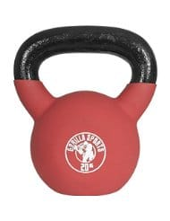 Red Palla Kettlebell in gomma