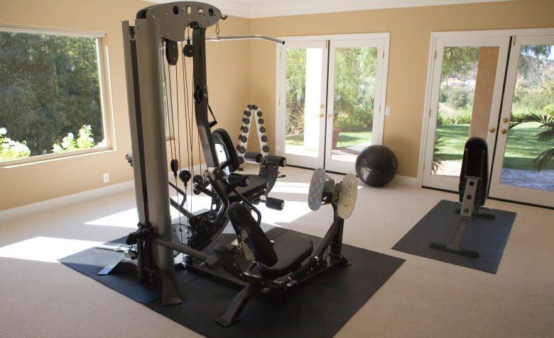 panca fitness multifunzione da casa