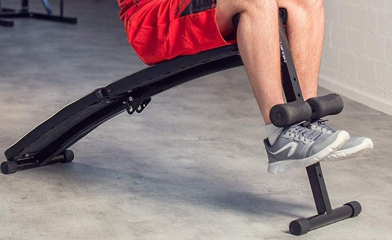 panca fitness pieghevole richiudibile