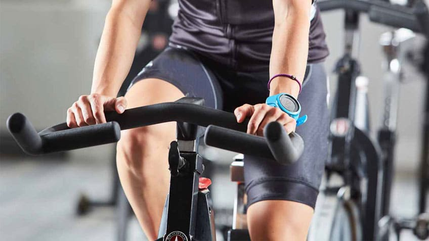 esercizi cyclette allenamento