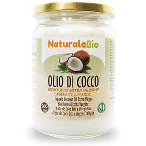 NaturaleBio Olio di Cocco Biologico Extra Vergine 500 ml