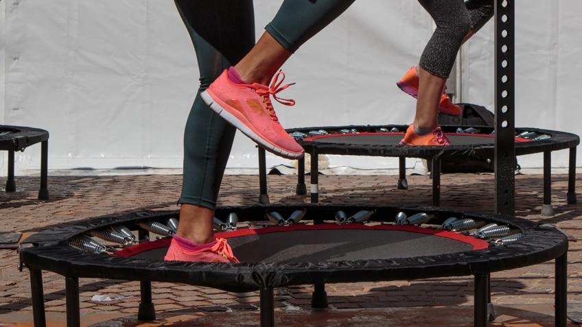 miglior trampolino elastico fitness